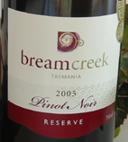 2009 Bream Creek Pinot Noir