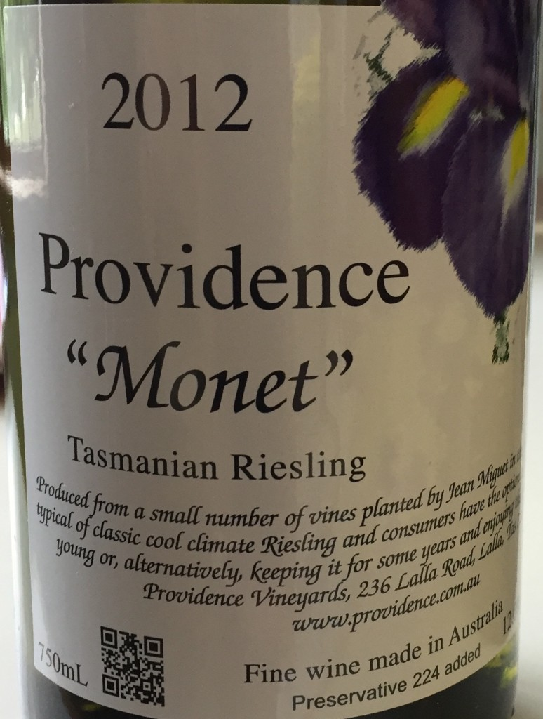 2012 Providence Monet Riesling