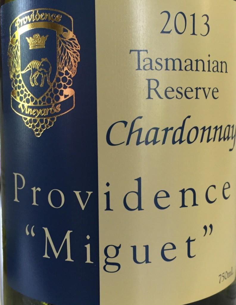 Providence 2013 Miguet Reserve Chardonnay