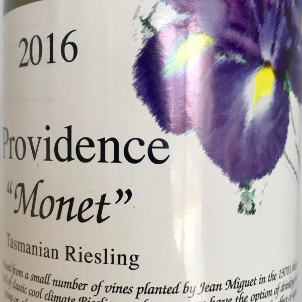 Providence 2016 Monet Riesling